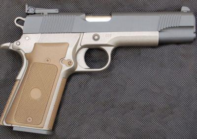 Sniper Gray - Stainless; Cerakote Burnt Bronze
