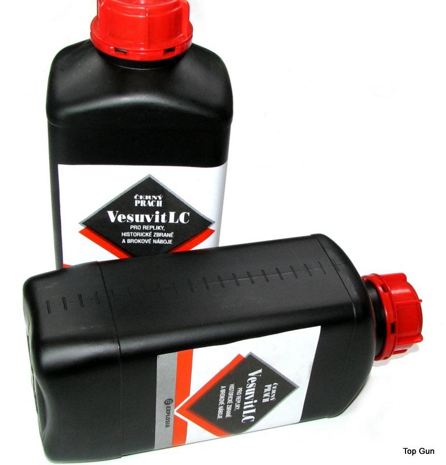 W ciągłej sprzedaży czeski proch czarny Vesuvit LC