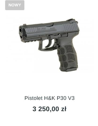 pistolet h&k p30 v3 sklep z bronią